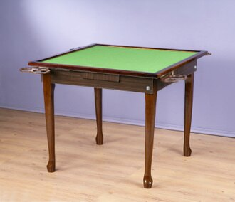 實木可收納折腳麻將桌 電腦桌工作桌 餐桌 兩色【馥葉】【型號TA012 】
