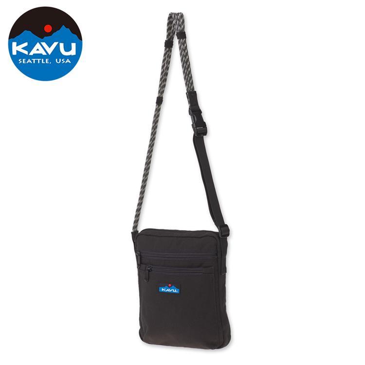 KAVU Zippit 休閒肩背包/側背包/隨身包/方包 873-20 黑色