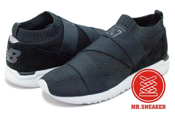 ☆Mr.Sneaker☆NEWBALANCEMRL247KX高筒襪套針織繃帶軍綠色男女段