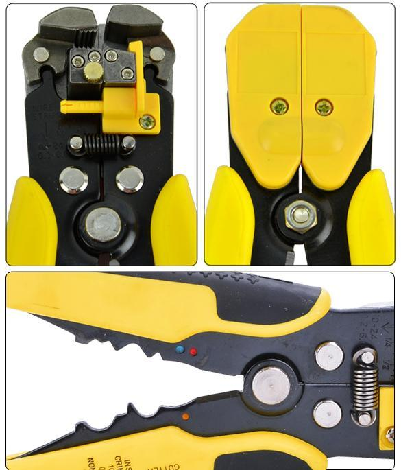 Automatic Wire Stripper Crimping Pliers Multifunctional Terminal Tool 4