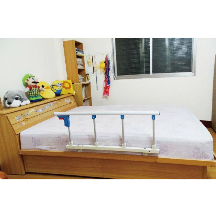 床邊安全護欄 - 附2支固定架 耐用、安靜,操作簡單,銀髮族、老人護欄、行動不便者適用