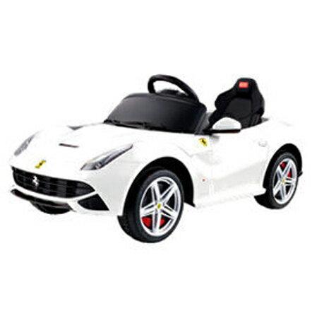 【悅兒樂婦幼用品?】81900法拉利電動車Ferrari F12(白)