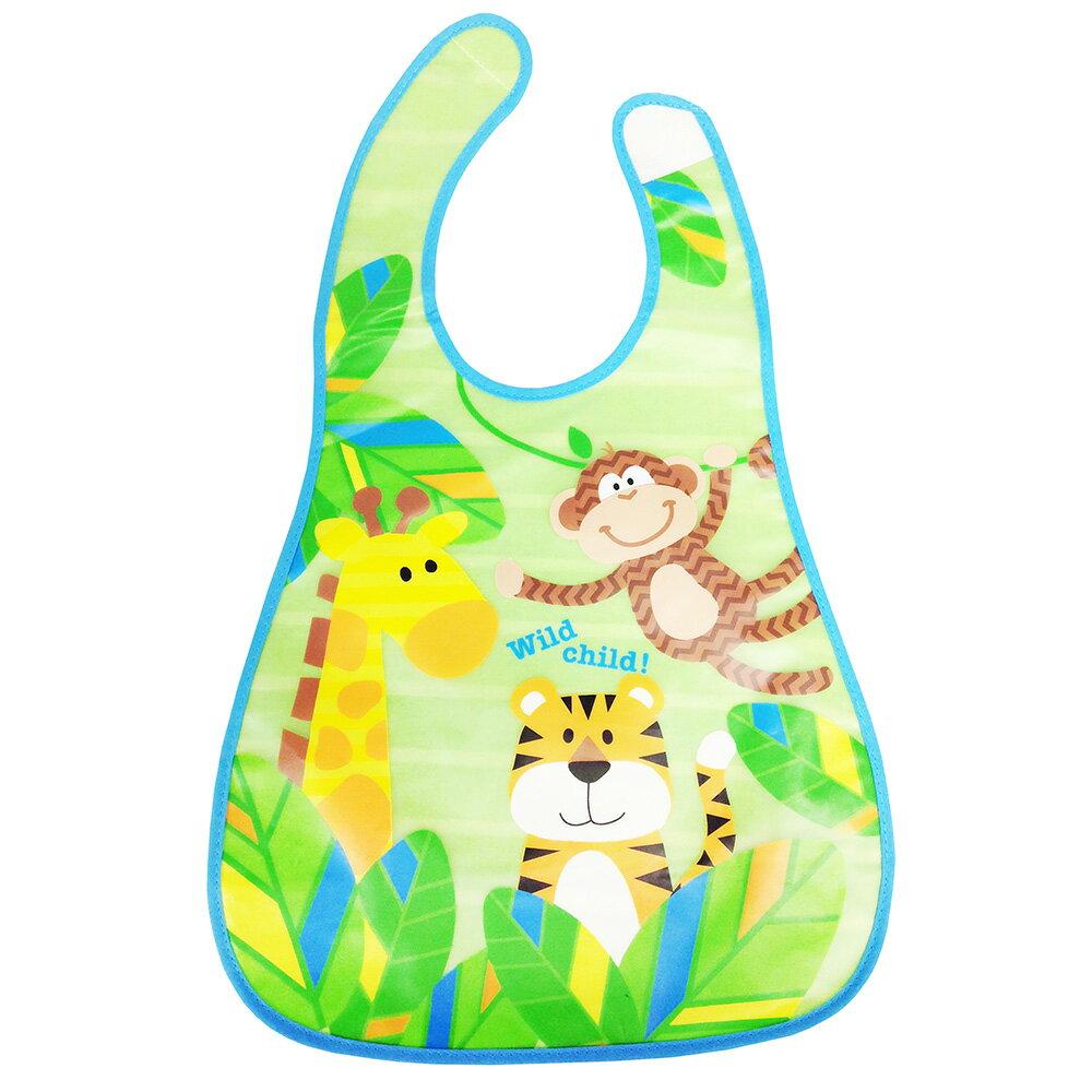 Lucky Baby 口袋式圍兜-動物園 S064【德芳保健藥妝】