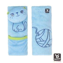 【淘氣寶寶】【以色列Benbat】Benbat 安全帶護套 1-4歲(小貓)【保證公司貨●品質有保證●非水貨】