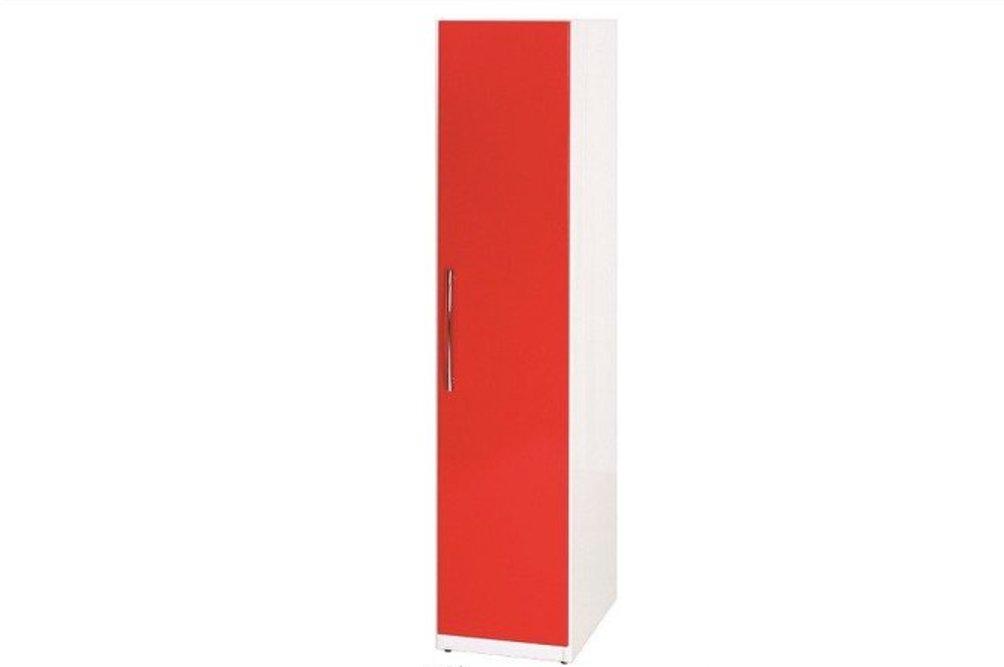 【石川家居】822-01 (紅/白色) 衣櫥 (CT-108) #訂製預購款式 #環保塑鋼P 無毒/防霉/易清潔