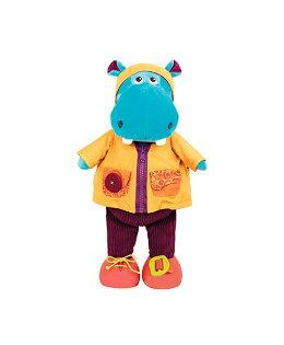 【淘氣寶寶】B.toys小河馬漢克(學習玩偶)