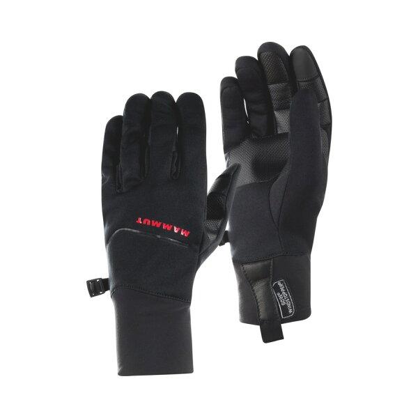【Mammut長毛象瑞士】Astro防風保暖手套/登山禦寒手套騎車手套/00070-0001