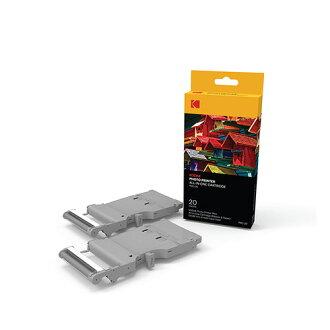 (限時價) KODAK 柯達 2x3 相片紙 相片列印 打印一體式墨盒*20張(PMC-20) (MINI PM-210印相機 專用)