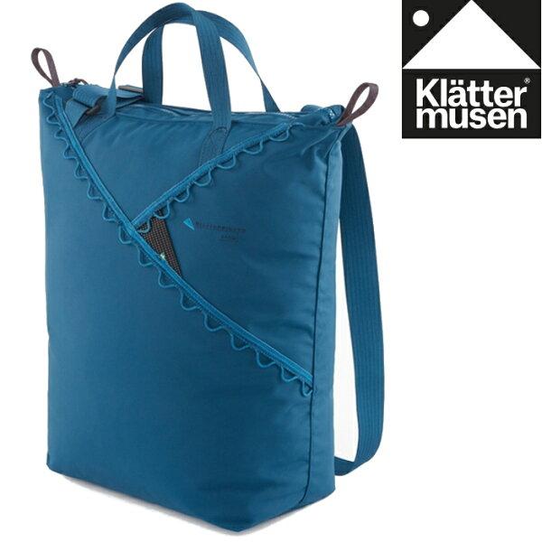 Klattermusen攀山鼠瑞典攀登鼠手提側背包手提袋購物袋托特包Baggi22LKM40369U藍莓色DB