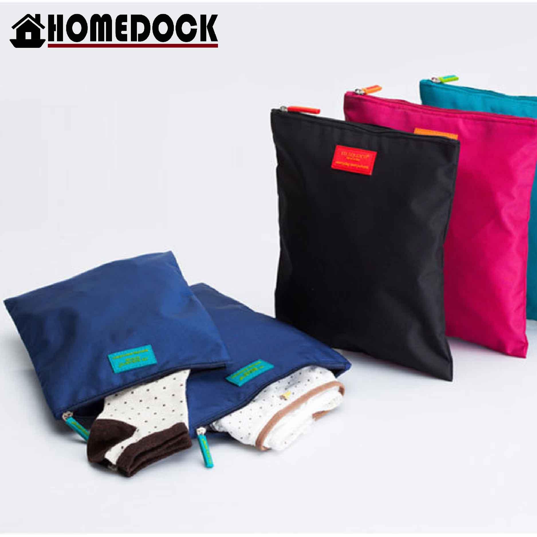 M Square 防水尼龍換洗衣物收納袋(2件) 髒衣/換洗衣服/洗漱包/雜物包/旅行包內衣袋