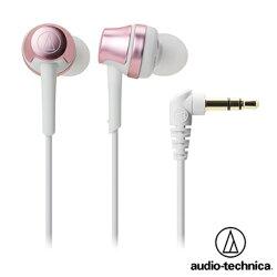 [富廉網] 鐵三角 ATH-CKR50 高音質密閉型耳塞式耳機 (粉色)