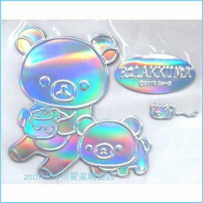 asdfkitty可愛家~ san~x 拉拉熊蜜蜂裝飾貼汽車.機車.冰箱.微波爐.電腦 貼