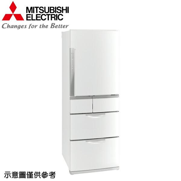 【MITSUBISHI三菱】525公升日本原裝變頻五門冰箱MR-BXC53X-W【三井3C】