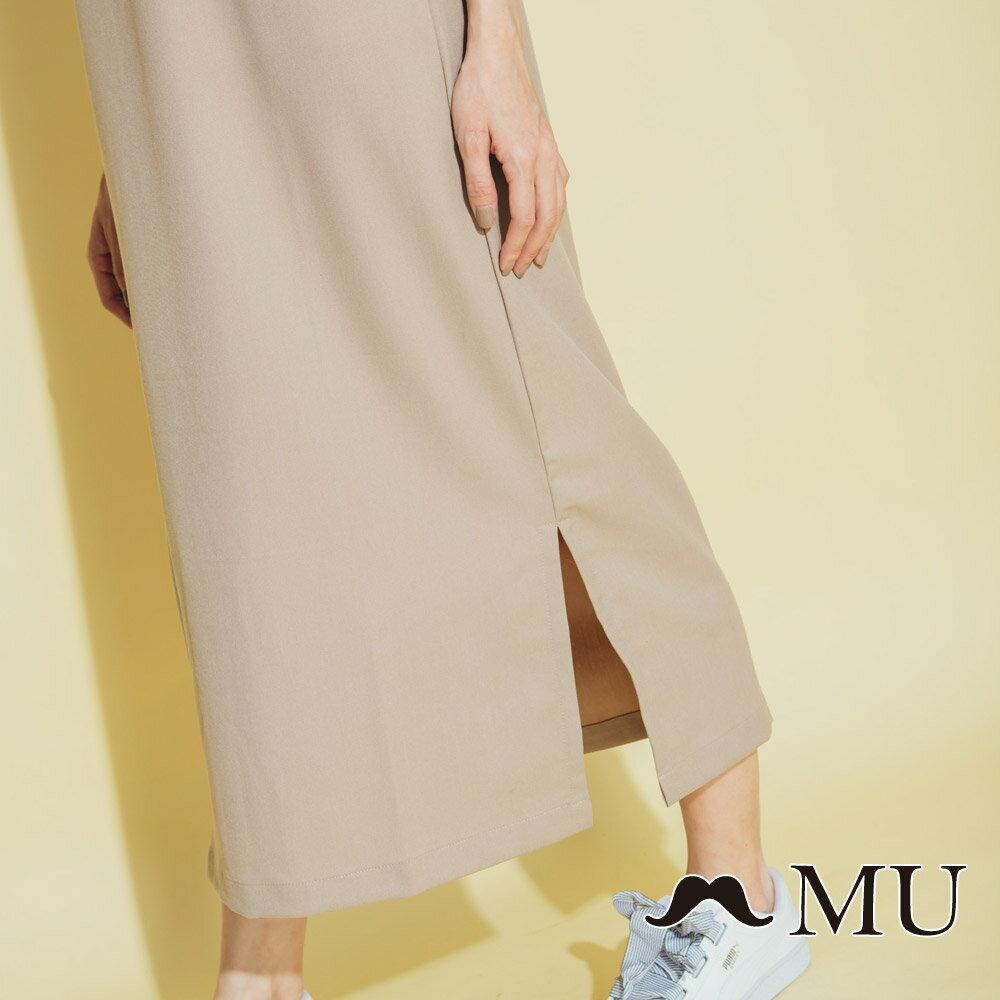 【MU】側綁蝴蝶結吊帶長裙(2色)8317161 3