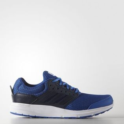 《限時特價↘6折免運》ADIDAS GALAXY 3 M 男鞋 慢跑鞋 緩震 輕量 藍 白 【運動世界】 AQ6540