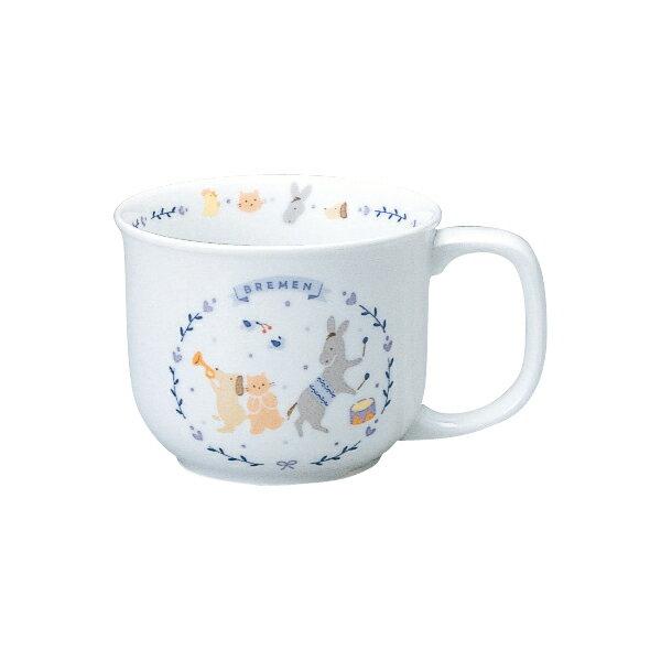 日本皇室愛用Narumi嬰幼童餐具-210CC水杯 布萊梅樂隊款