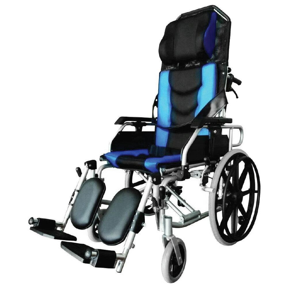 來而康 富士康 機械式輪椅 AB2020 躺舒芙 加大座寬 20吋後輪 輪椅B款補助附加A款B款 贈 輪椅置物袋