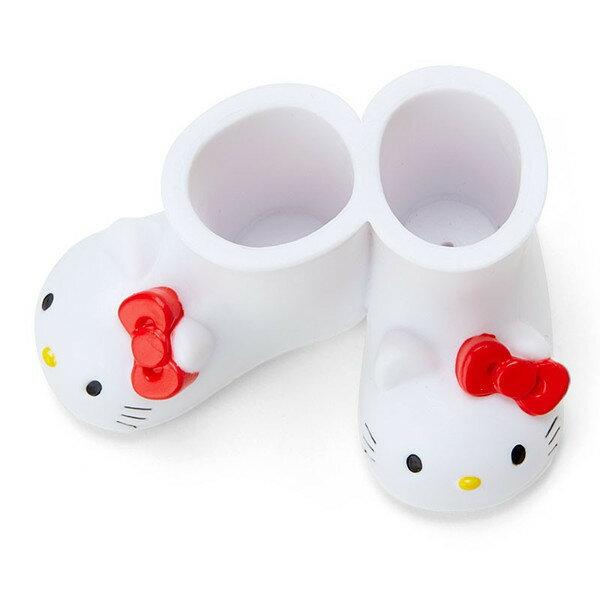 日本直送 Multi Stand Hello Kitty 凱蒂貓 TOOTHBRUSH 雨鞋造型 牙刷架 筆架