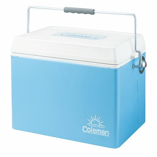 【露營趣】中和安坑 Coleman CM-22233 26.5L 美國藍復古鋼甲冰箱 冰桶 野餐露營保冷保溫