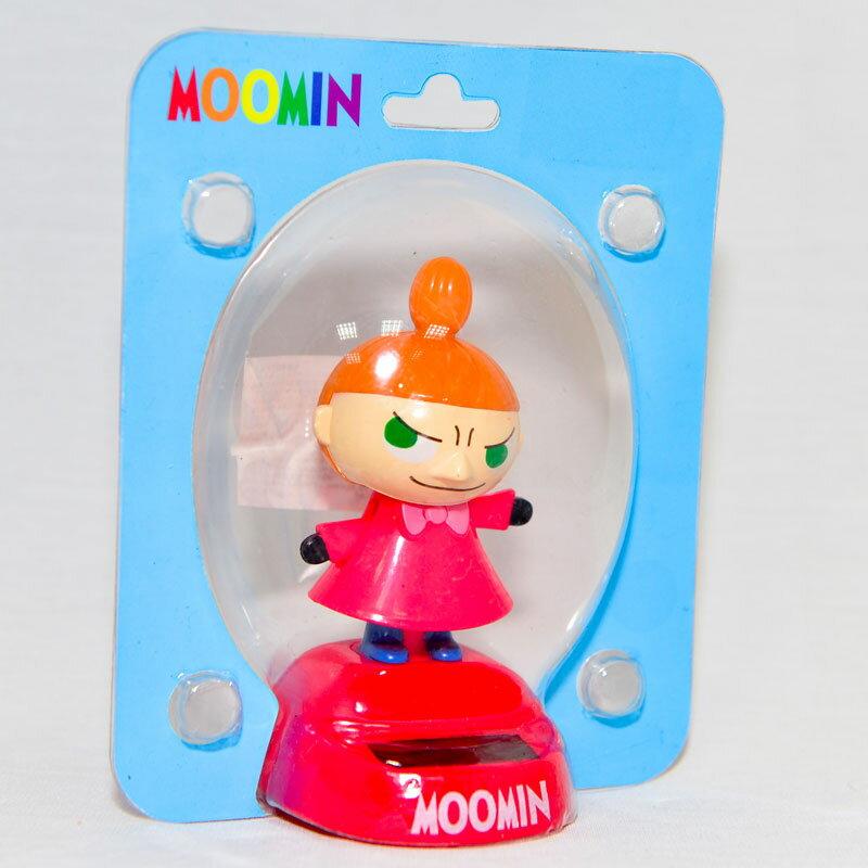MOOMIN 嚕嚕米 小不點亞美 太陽能搖頭娃娃 日本帶回