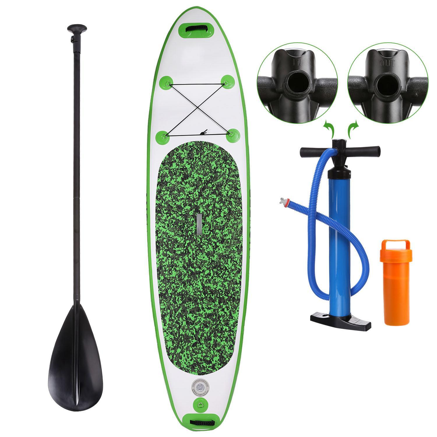 SUP Tower Stand Up Inflatable Paddle Board Bundle Adventurer Water Skiing 1