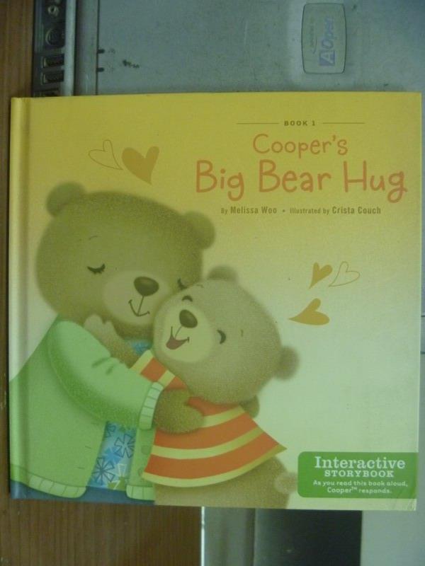 【書寶二手書T6/語言學習_KSS】Cooper's big bear hug