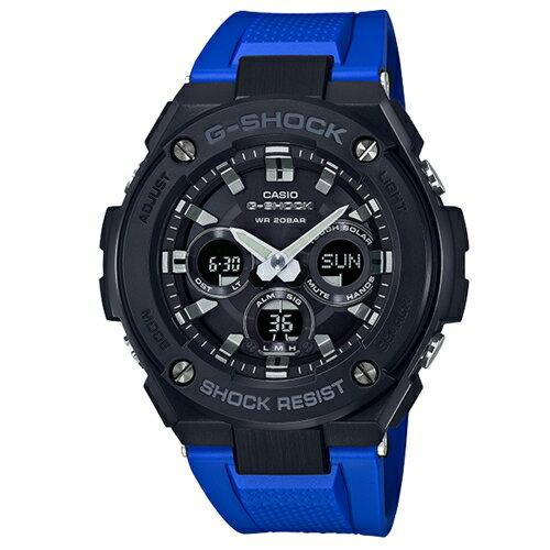 CASIOG-SHOCK競速太陽能運動腕錶GST-S300G-2A1DR