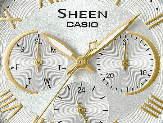 【CASIO】【SHEEN】【淑女錶】 SHE-3058SG-7A 台灣公司貨 保固一年 附原廠保固卡