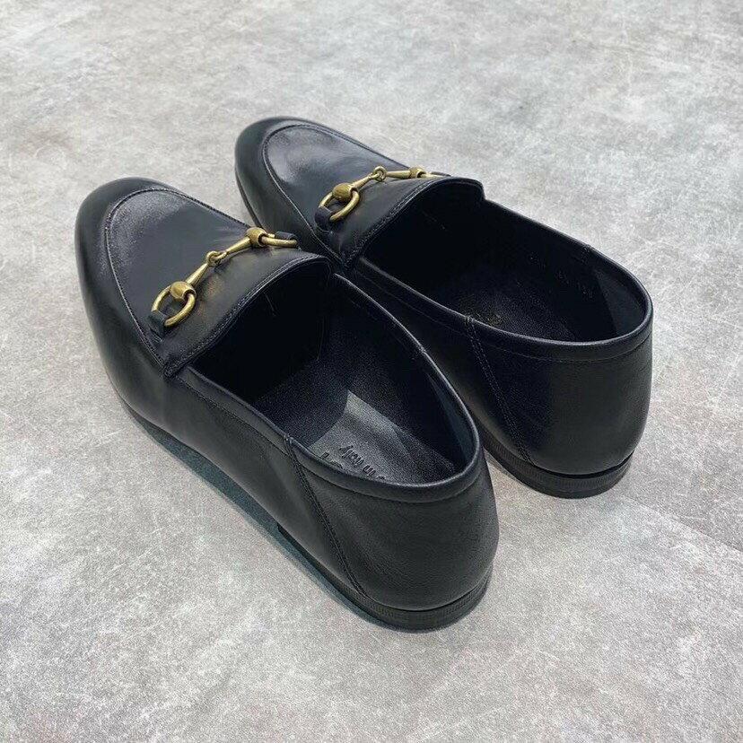 GUCCI Brixton馬銜扣可踩腳樂福鞋 女款 尺寸35.5 36 36.5 37 37.5 $19800