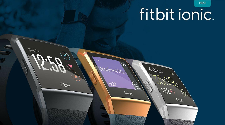 【送10倍點數】 FITBIT IONIC 智能健身手錶 公司貨