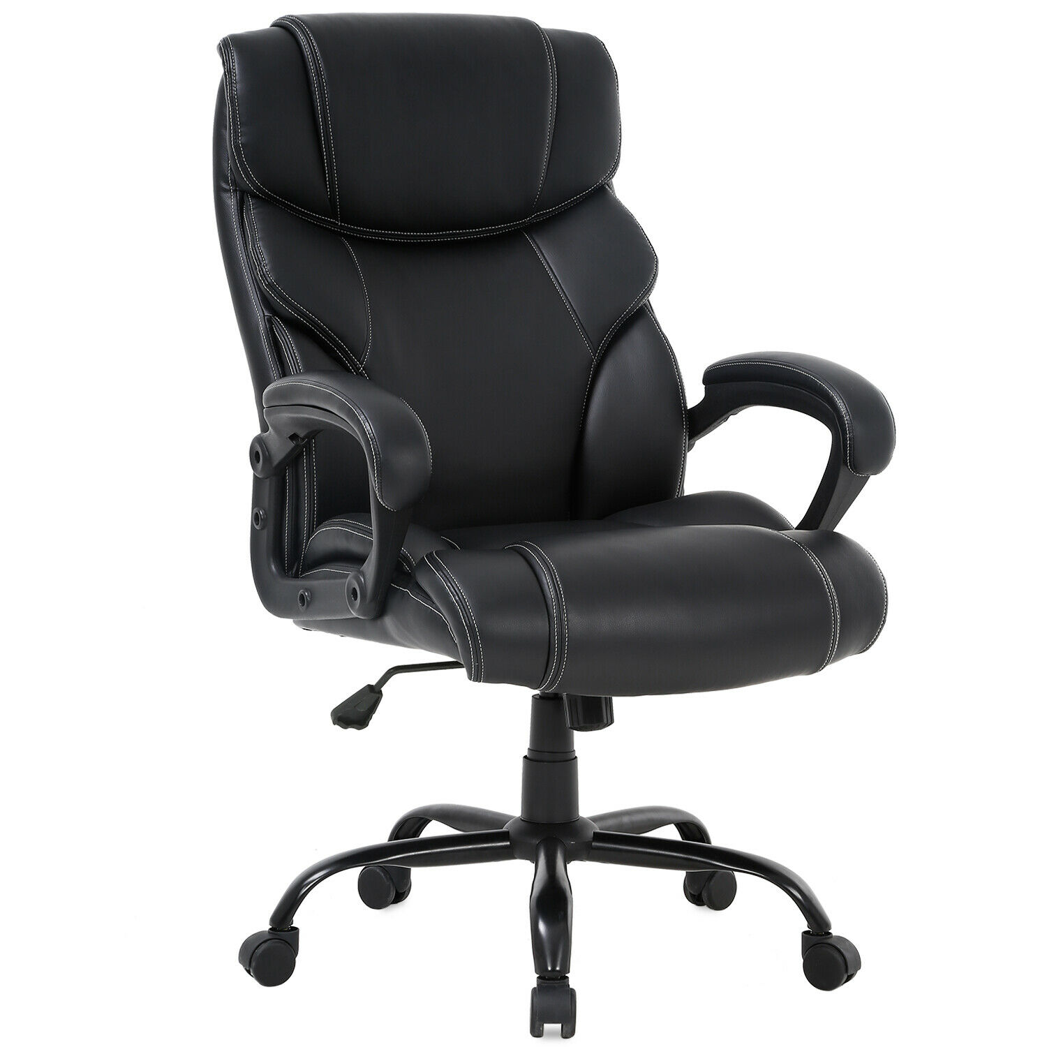 Groovy Big Tall Office Chair 400Lbs Wide Seat Ergonomic Desk Chair With Lumbar Support Download Free Architecture Designs Viewormadebymaigaardcom