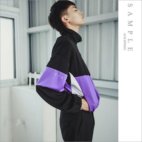 韓國製運動外套手袖小字【OS20244】-SAMPLE