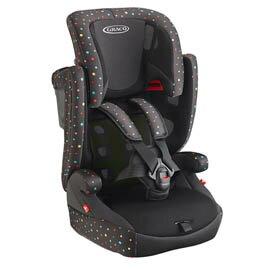 GRACO AirPop 嬰幼兒成長型輔助汽車安全座椅-繽紛彩【悅兒園婦幼生活館】