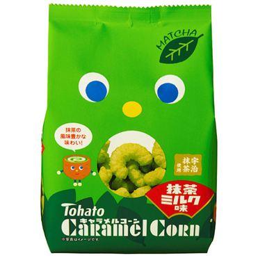 東鳩焦糖玉米脆果-抹茶牛奶 (70g)