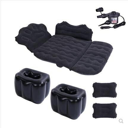 【快速出貨】充氣床 車載充氣床墊后排車用睡墊旅行床轎車后座車內睡覺神器折疊氣墊床 交換禮物 雙12購物節
