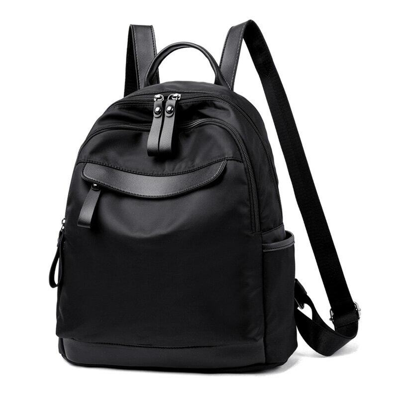 側背包女背包2020新款韓版潮牛津布帆布時尚百搭女士旅行小包包女