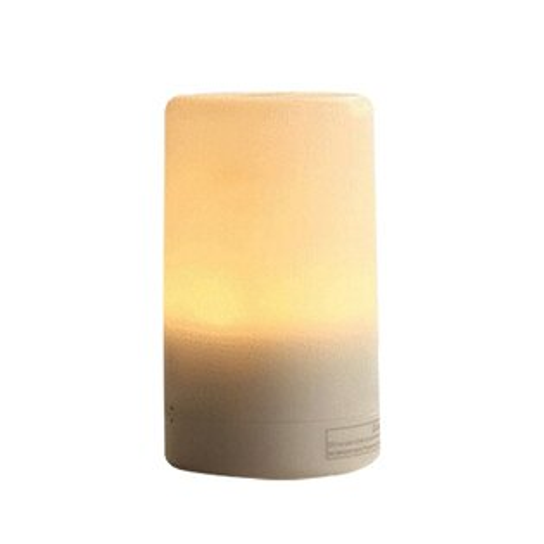 USB迷你香薰加濕器(70毫升)香氛機超聲波薰香機加濕器小夜燈兩段燈光4組定時無水自動斷電