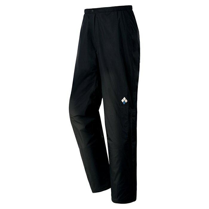 【【蘋果戶外】】mont-bell 1128602 黑 日本 男 Rain Hiker Pants 防水透氣雨褲 類Gore-tex 防水雨褲 風雨褲