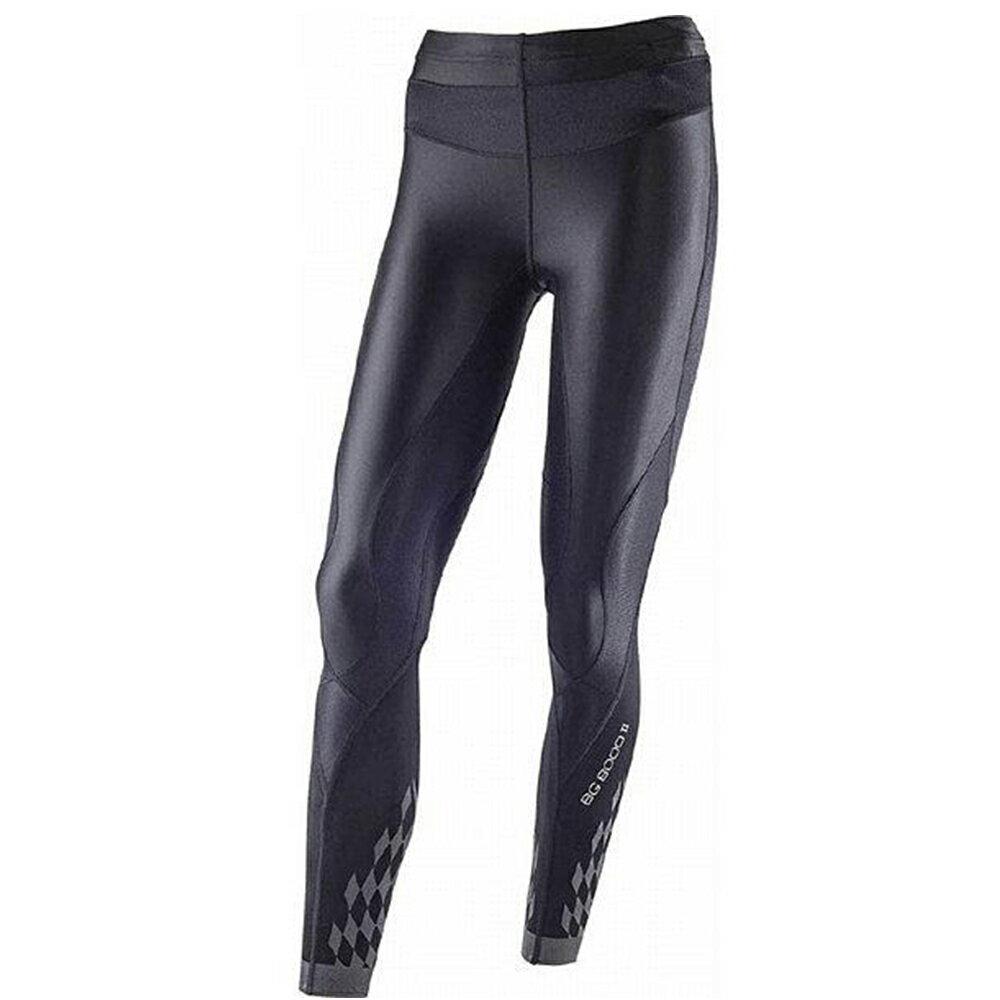 【領券再9折】Mizuno BIO GEAR BG8000 II 女裝 褲子長褲 緊身 彈性 輕量 黑【運動世界】K2MJ5D0190