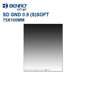 Nikon-Mall:【BENRO】方形濾鏡系列SDGND0.9(S)SOFTWMC漸層減光鏡75x100mm