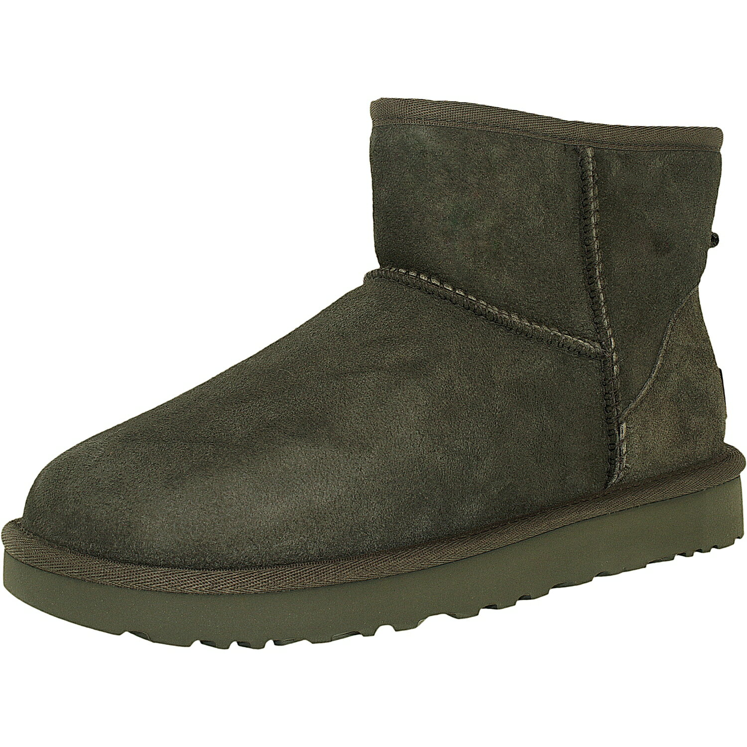 Ugg Women's Classic Mini II Leather Ankle-High Suede Boot 0
