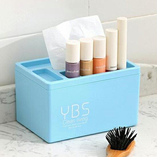 ♚MY COLOR♚塑料多 紙巾盒^(長^) 居家 桌面 辦公桌 收納 抽紙 衛生紙 化妝