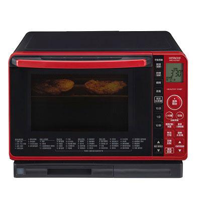 ACCES HITACHI日立 22L過熱水蒸氣烘烤微波爐MROVS700T晶鑽紅