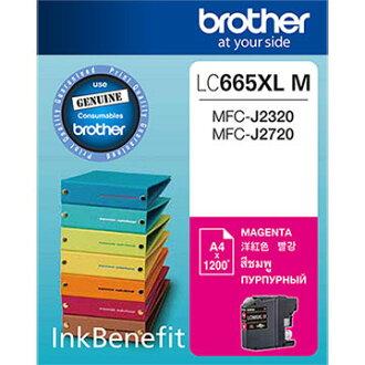 Brother LC665XL-M 原廠紅色墨水匣 適用機種:MFC-J2320、MFC-J2720