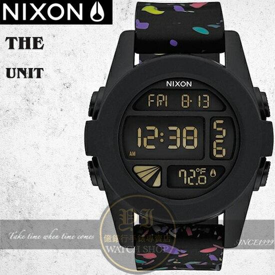 NIXON 實體店The UNIT 雙時區潮流運動錶A197-2300原廠公司貨/禮物/極限運動/衝浪