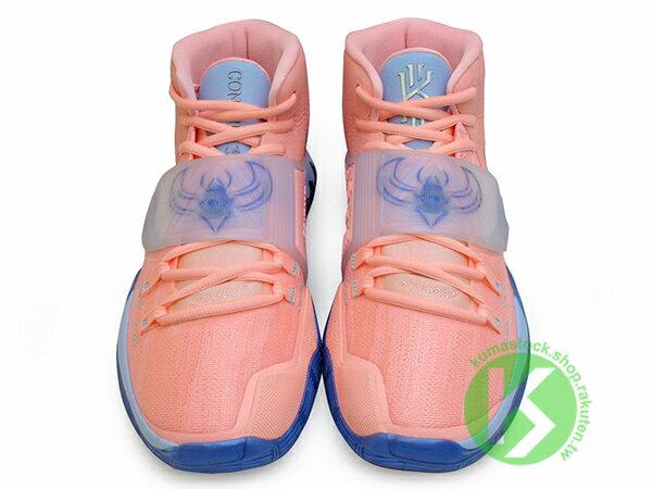 2019-2020 Kyrie Irving 最新代言鞋款 限量發售款 CONCEPTS x NIKE KYRIE 6 CNCPTS EP VI KHEPRI 淡粉紅 藍底 聖甲蟲 古埃及 神話 凱布利 前掌 ZOOM TURBO AIR 氣墊 (CU8880-600) ! 4