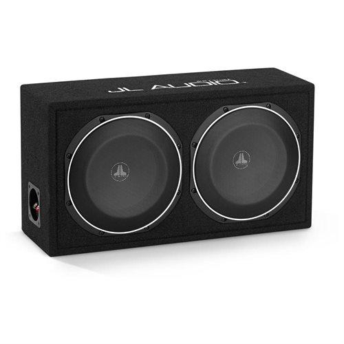 "JL AUDIO CS210LG-TW1 Loaded 10"" Dual 10TW1-4 Sub PowerWedge Sealed Enclosure Box w/ Black Carpet 7c5ebaae9ab388a8dc2a6aacf154227a"