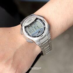 CASIO卡西歐月球潮汐電子鋼錶【NEC42】柒彩年代