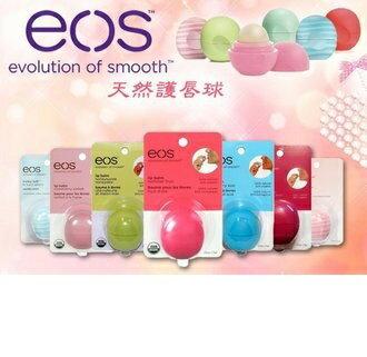【彤彤小舖】EOS 護唇球 7g 夏日水果 /草莓雪酪 /甜美薄荷 /石榴覆盆子 /焦糖牛奶 過期出清