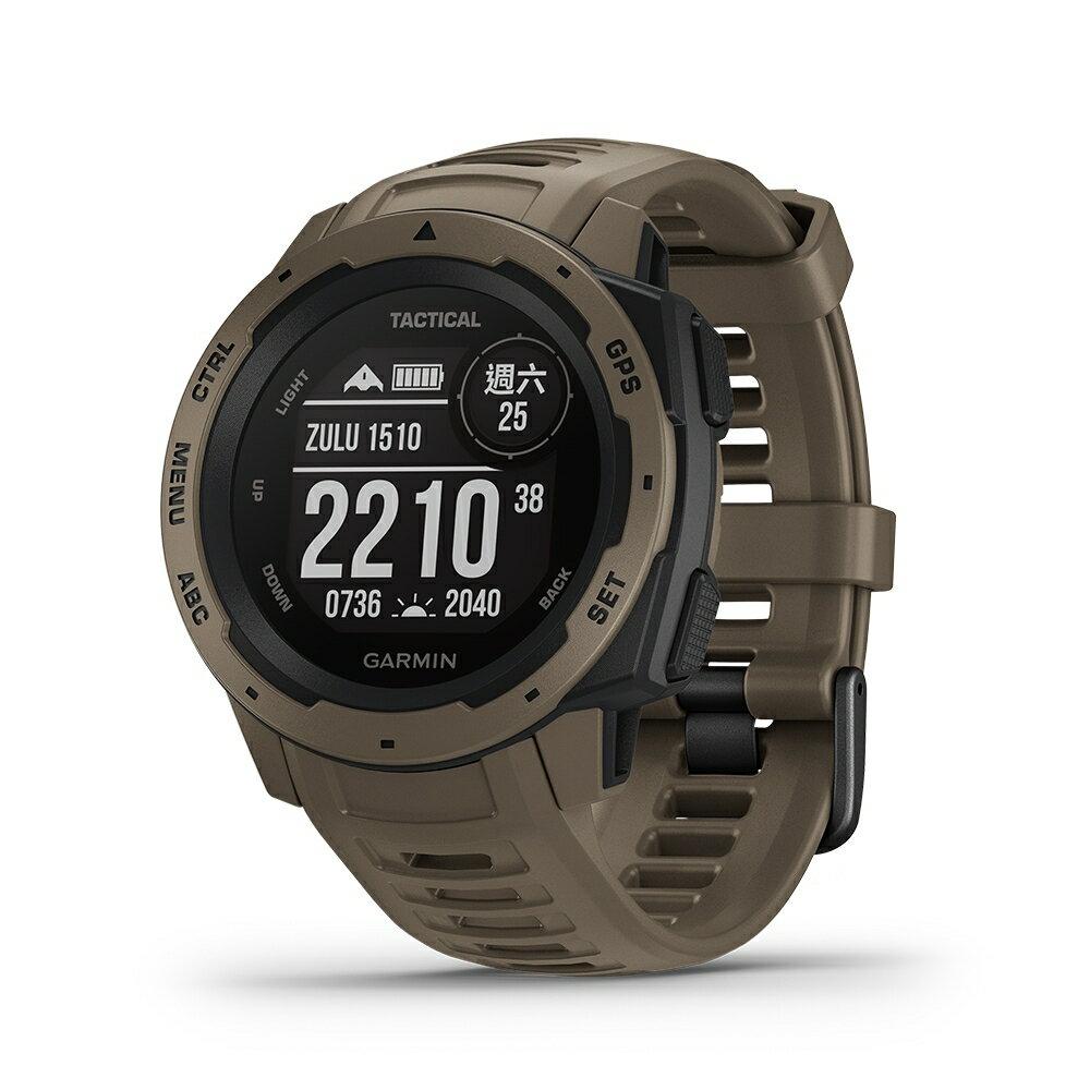 GARMIN INSTINCT TACTICAL EDITION 本我系列 軍事戰術版 軍用規格防水戶外多功能GPS腕錶 『贈日本SASAKI運動毛巾』 免運 4